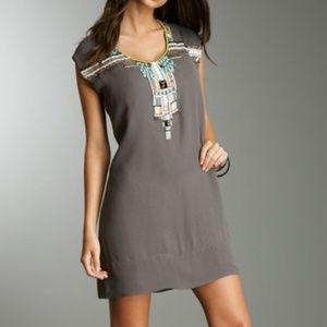 French Connection Cleo's Dream Beaded Mini dress
